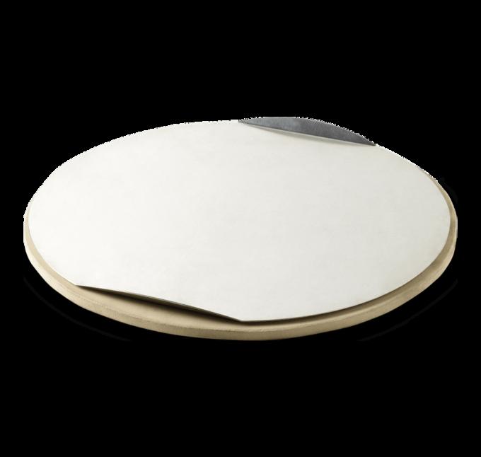 17058 Pierre à pizza ronde ø36.5cm Weber + plaque alu