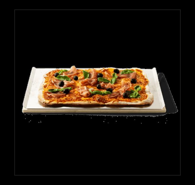 17059 Pierre à pizza rectangulaire Weber 44x30cm