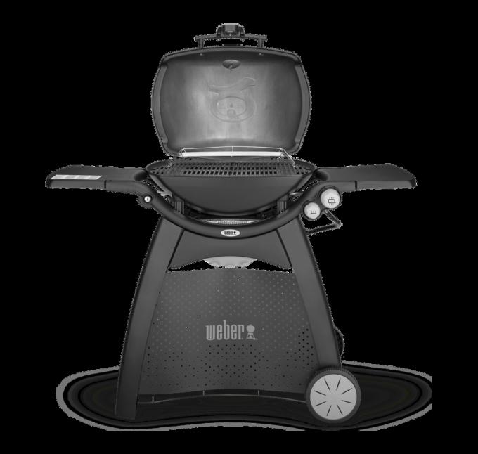 57010094 Barbecue à gaz Weber Q 3200 noir