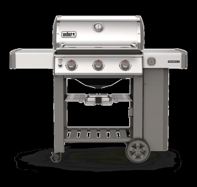 61001104 Barbecue à gaz Genesis II S-310 GBS inox