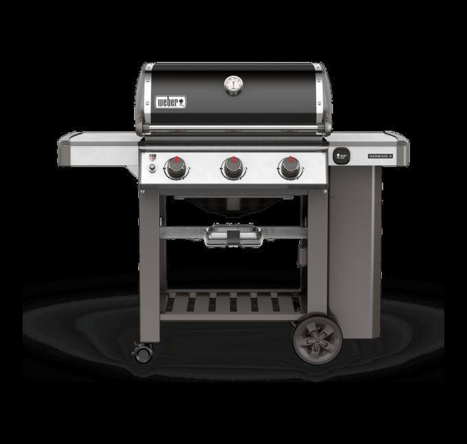 61011104 Barbecue à gaz Genesis II E-310 GBS noir