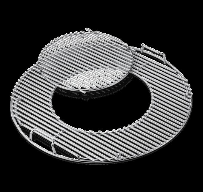 8843 Grilles de cuisson Weber charbon 57cm inox