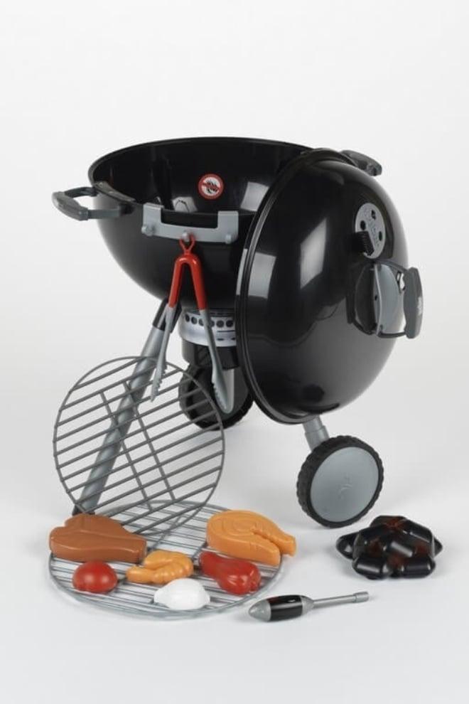 POS36014 Jouet pour enfants Weber Barbecue Original Kettle Toy Grill Black