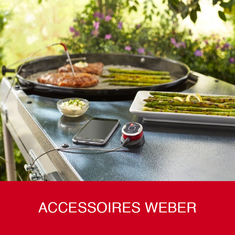 Accessoires barbecues Weber
