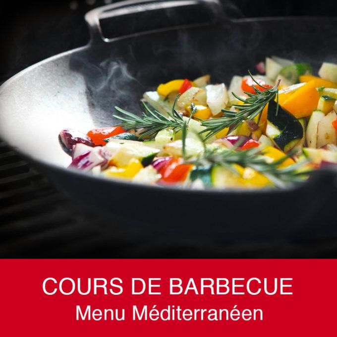 Cours de barbecue méditerrannéen