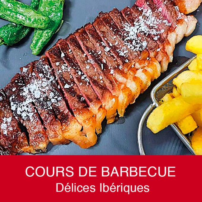Cours de barbecue thématique, Délices Ibériques 100% Pata Negra