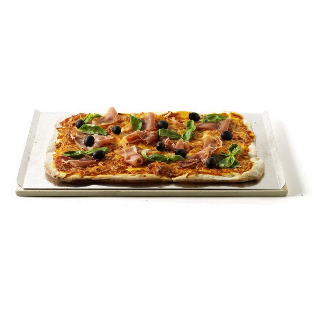 Weber Pierre à pizza rectangulaire 44x30cm 17059