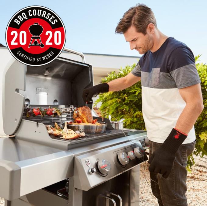 Réservez votre cours de barbecue certifié Weber 2020