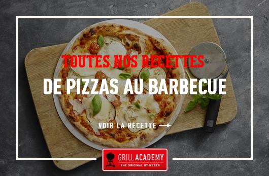 Recettes pizzas Weber