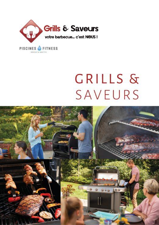 Brochure Grills & Saveurs - Barbecues Weber, Planchas Le Marquier, Cuisines Eno et Indu+, Cheminées Tole ...