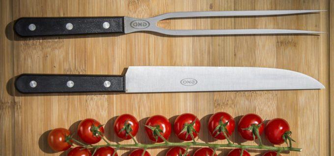 Pic à viande et couteau Eno inox