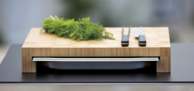 Accessoire billot en bois pour Plancha Eno