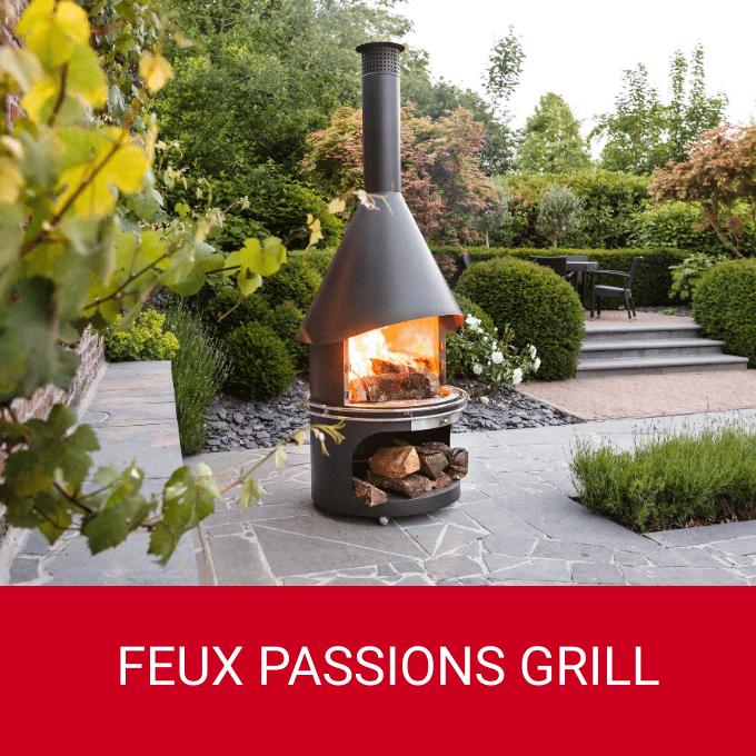 Feux et barbecue de jardin Passions Grill