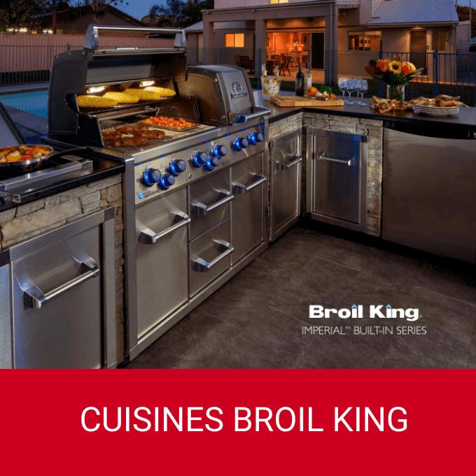 Cuisines Built-In Broil King pour l'extérieur