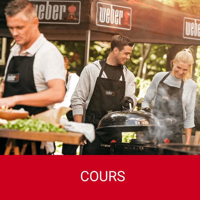 Cours de cuisine au Barbecue Weber