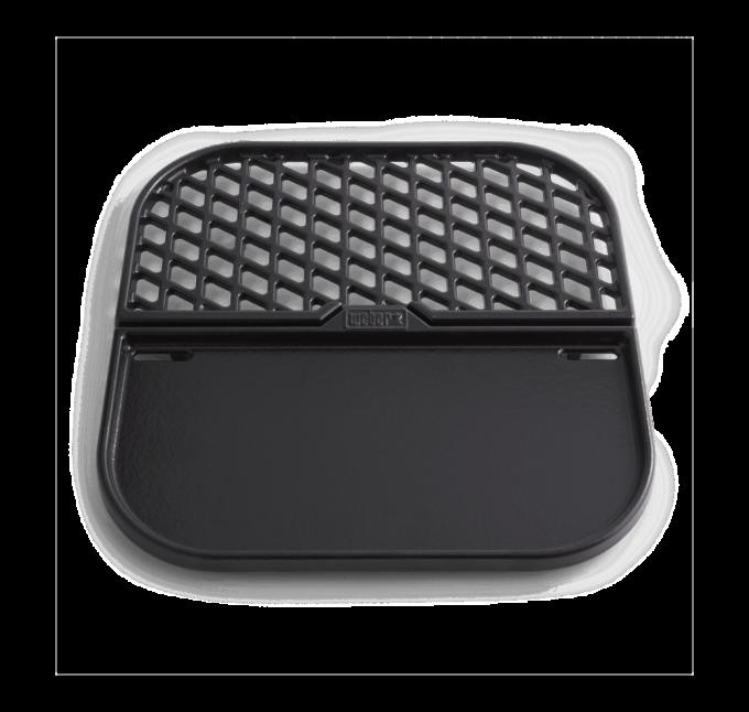Combiné plancha et grille Compatible avec les grilles de cuisson du Gourmet BBQ System