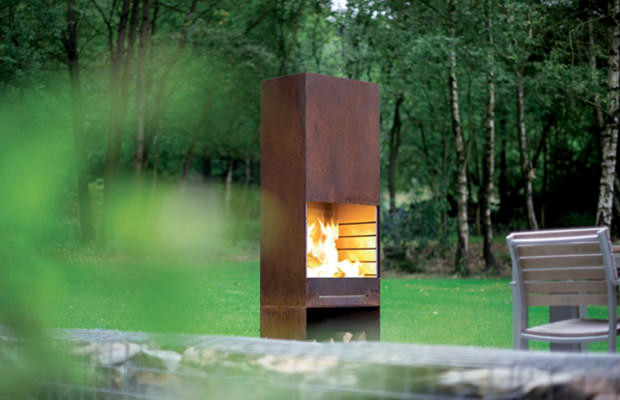 Cheminee Exterieur Design Cheminee Exterieure Barbecue Achat