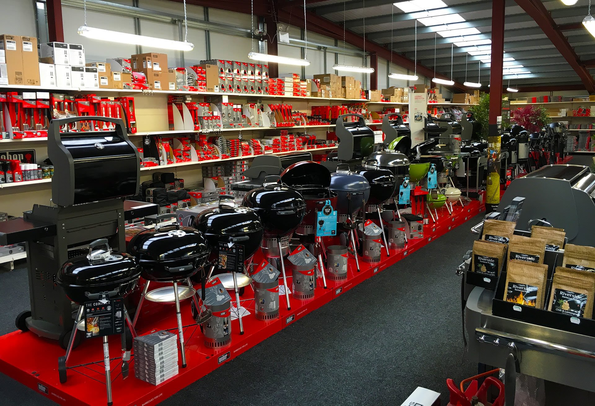 Showroom magasin Barbecue - Grill en Suisse Romande
