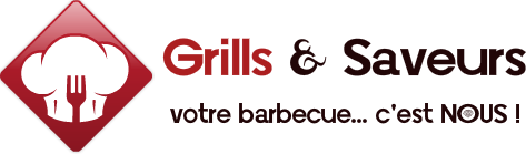 Logo Grills & Saveurs - Barbecue Weber